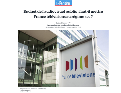 Réduction du budget de l'audiovisuel public :  ma réaction