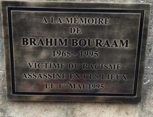 1er Mai Hommage à la mémoire de Brahim Bouraam