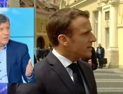 Vidéo-21 mai, Extrait de ma réaction à l'interview d'Emmanuel Macron à propos des Européennes