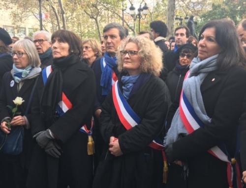 Vidéo. Aujourd'hui je représentais le Sénat aux cérémonies en hommage aux 130 victimes assassinées lâchement, il y a 4 ans, par des terroristes islamistes aux terrasses des cafés, au Bataclan à Paris et au Stade de France. Ne les oublions jamais