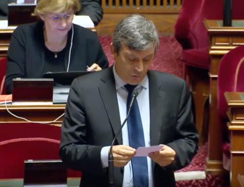 Vidéo.Le 26 Novembre, mon intervention au Sénat contre la baisse des moyens à l'audiovisuel public et en soutien aux grévistes de Radio France