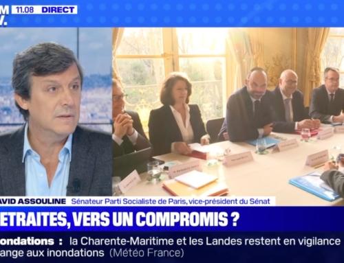 Le 19/12, je débattais sur BFM TV de la réforme des retraites. « L'égalité ce n'est pas la génération de l'injustice »