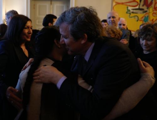 Vidéo. Le 25/02 à l'Hôtel de Ville pour la remise de sa citoyenneté d'honneur à Asia Bibi par Anne Hidalgo . Le courage d'être libre d'une femme qui donne de la force à l'humanité