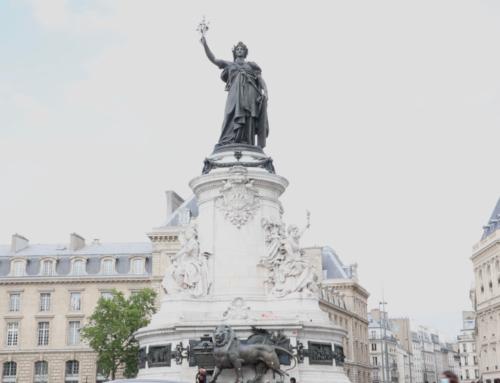 Retour en vidéo sur le rassemblement en hommage à #GeorgeFloyd le 9 juin Place de la République   @SOS_Racisme
