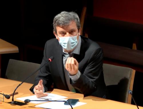 Mon intervention lors de l'audition de Roch-Olivier Maistre, Président du CSA