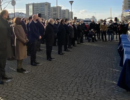 Hommage aux victimes de l'attentat antisémite du 9 janvier 2015 à l'Hyper Cacher