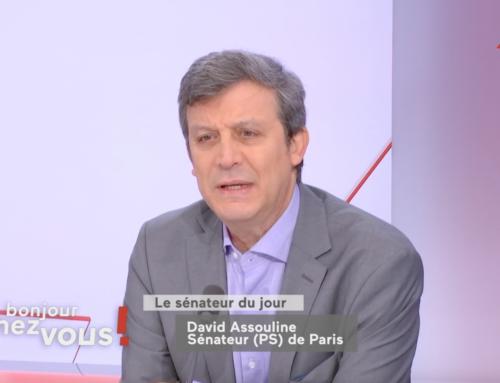 Bonjour Chez vous sur Public Sénat : interview sur les élections régionales et la présidentielle de 2022