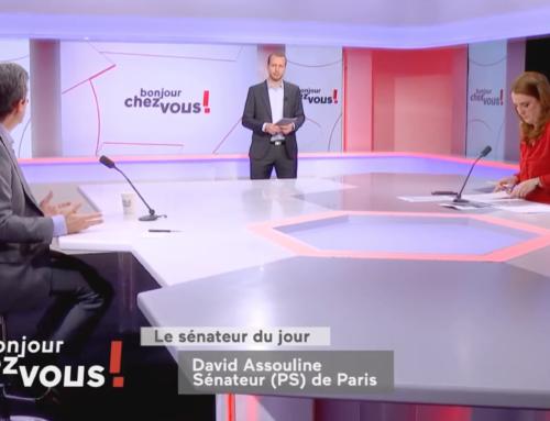 Bonjour Chez vous sur Public Sénat : interview sur la politique du Gouvernement envers la jeunesse en période de crise sanitaire