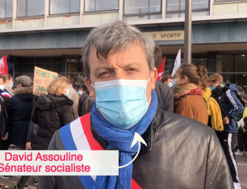 Manifestation en soutien aux étudiant.e.s précarisé.e.s par la crise de la COVID-19