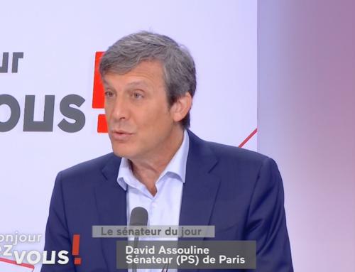 Bonjour Chez vous : Interview de David Assouline le 21 mai 2021